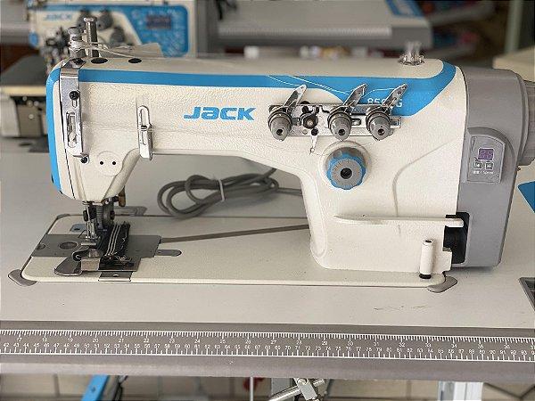 Máquina de Costura Ponto Corrente Base Plana PTF JACK JK-8560GPL-HX2 - 220 V
