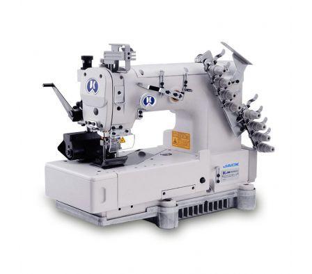 Maquina de Costura Fechadeira de Cós 4 Agulhas Jack JK-HF-8009-04 064-254P - 220 V
