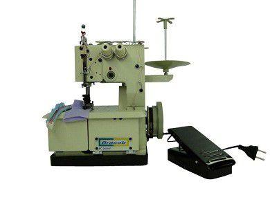 Máquina de Costura Galoneira Portatil 2 Agulhas Bracob Semi Industrial - BC-2600P - 220 V