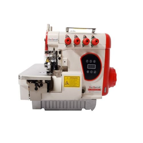 Maquina Interlock Eletrônica Sun Special 5 Fios, Bitola Média SS-95D - 220 V
