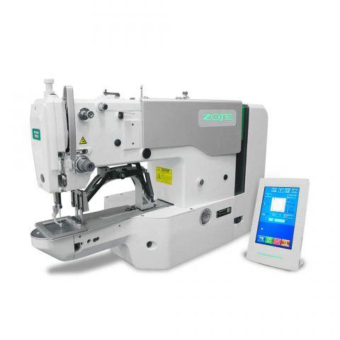 Travete Eletrônica Leve 60x40mm com Control Box Acoplado ao Cabeçote Zoje ZJ-1900DSS-0604-3-P-J-TP-V4
