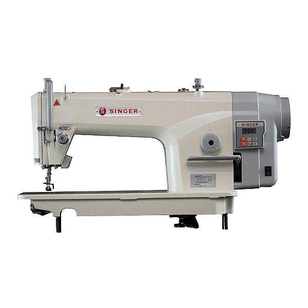 Máquina de Costura Reta Singer 141G - 20 CFA Direct Drive com Corte de Linha -220 V