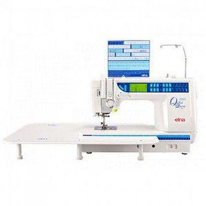 Máquina de Costura Elna 7300 Com 126 pontos 7 tipos de caseados Braço Longo - 220 V