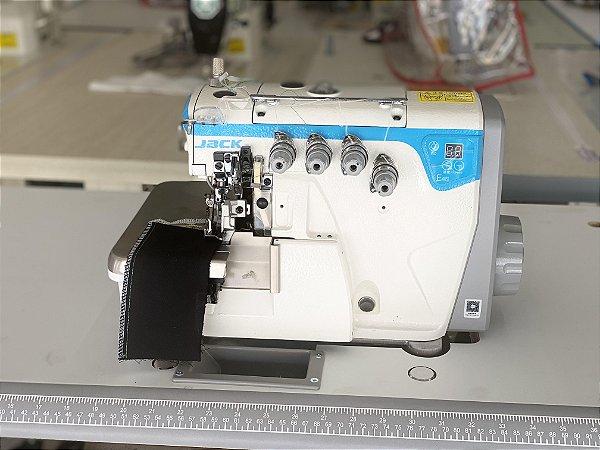 Maquina Interlock 2 Agulhas 5 fios Direct Drive Com Ajuste Diferencial do Dente Jack JK- E4S-5-03/333 - 220 V