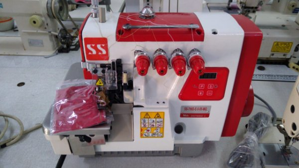 MAQUINA OVERLOQUE 4 FIOS DIRECT DRIVE SUNSPECIAL SS798D-4 - 220 V