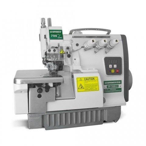 Maquina de Costura de Overloque 1 agulha de Motor Direct Drive Sew Power SP-700D-3 - 220 v