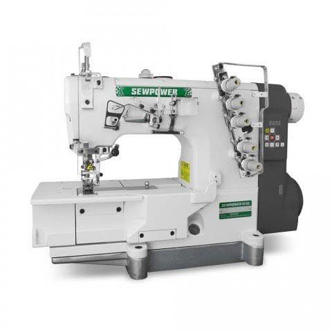 Maquina Galoneira Sew Power SP-500D-01 Base Plana 3 Agulhas Direct Drive  - 220 V