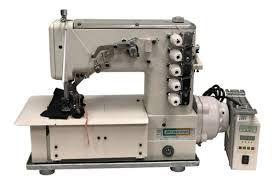 Máquina de costura industrial Semi industrial galoneira Bracob BC 5000 Motor Direct Drive 3 Agulhas