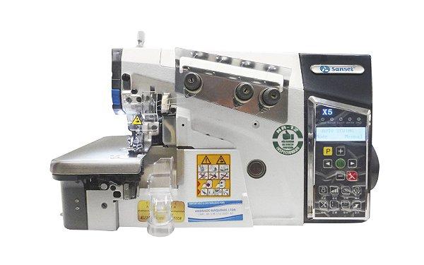 Maquina Overloque Eletronica Sansei 1 Agulha SA‐MX5‐3‐02/233-1 - 220v