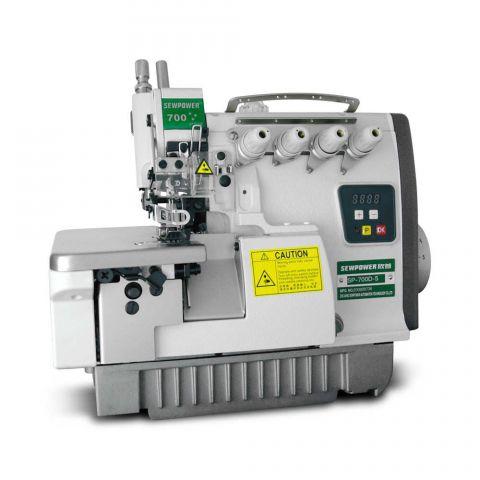 Maquina Interloque  com Motor Direct Drive SewPower Bitola Media SP-700D-5 - 220 V