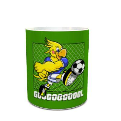 Caneca do Brasil Mascote Cacá Gol