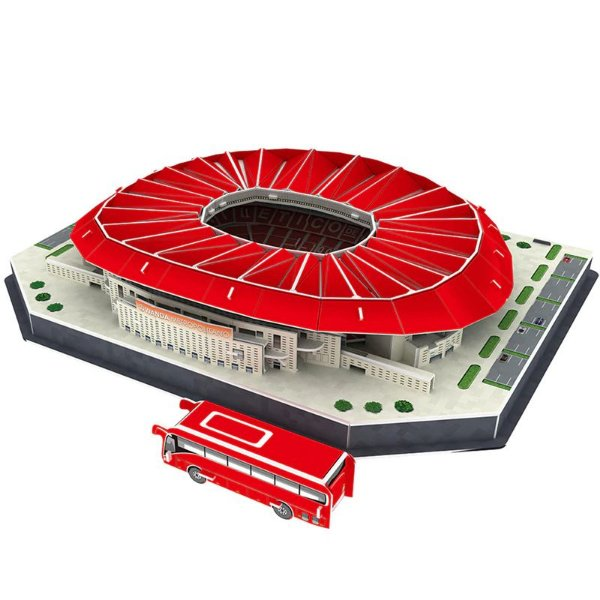 Maquete do Estádio do Atlético de Madrid Wanda Metropolitano