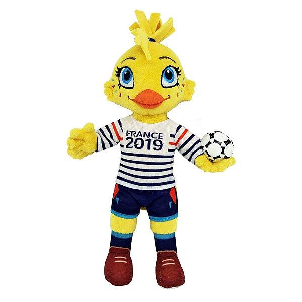Mascote da Copa do Mundo Feminina 2019 Ettie Pelúcia