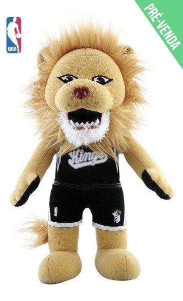 Mascote da NBA Pelúcia Sacramento Kings Basquete