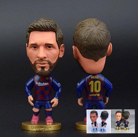 Mini Craque Messi e Neymar e Cristiano Ronaldo 03 Mini Craques