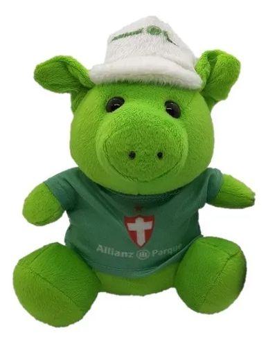 Mascote do Palmeiras Porco Allianz Parque Oficial Verde