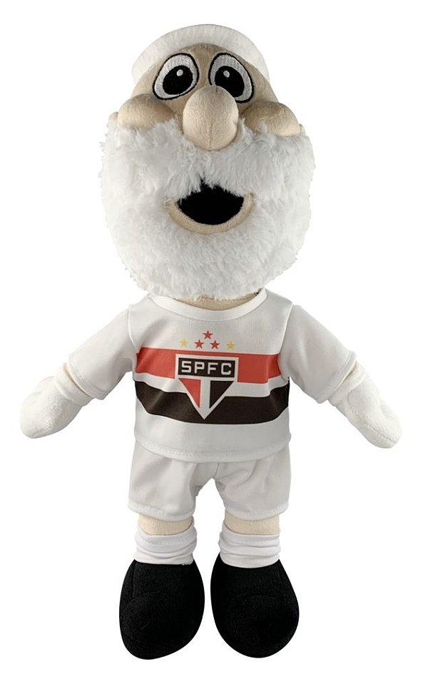 Mascote do São Paulo Pelúcia 45cm Uniforme 1