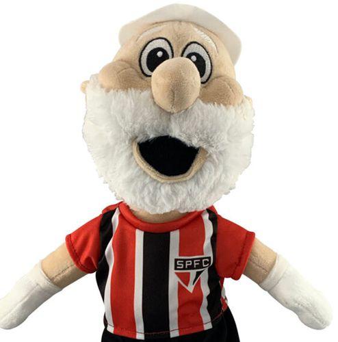 Pelúcia Mascote do São Paulo Uniforme 2