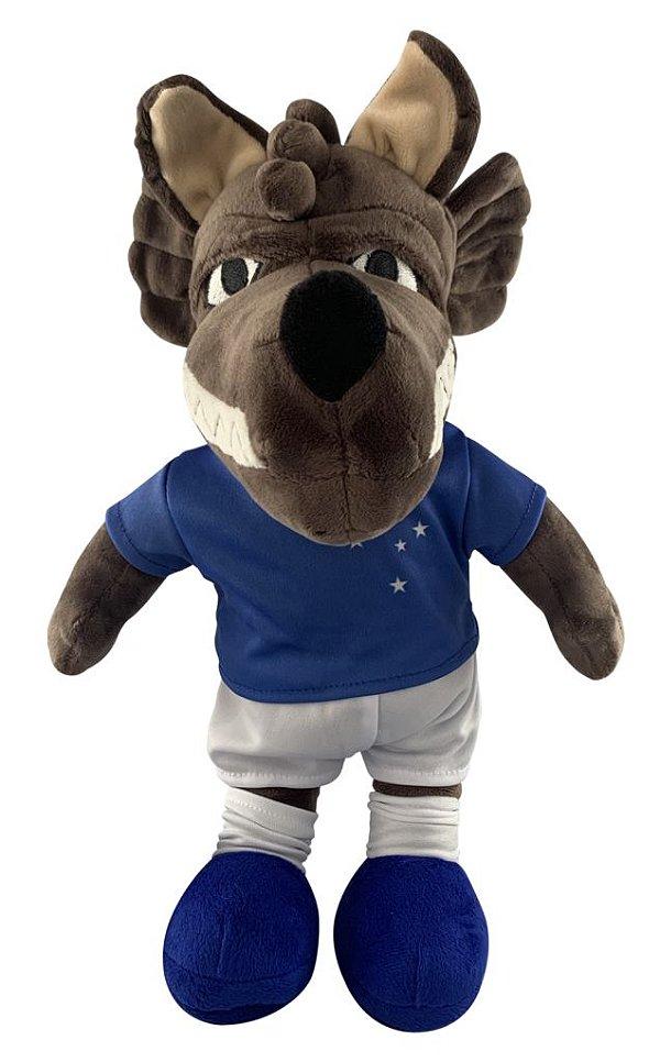 Mascote Raposão Pelúcia Oficial do Cruzeiro