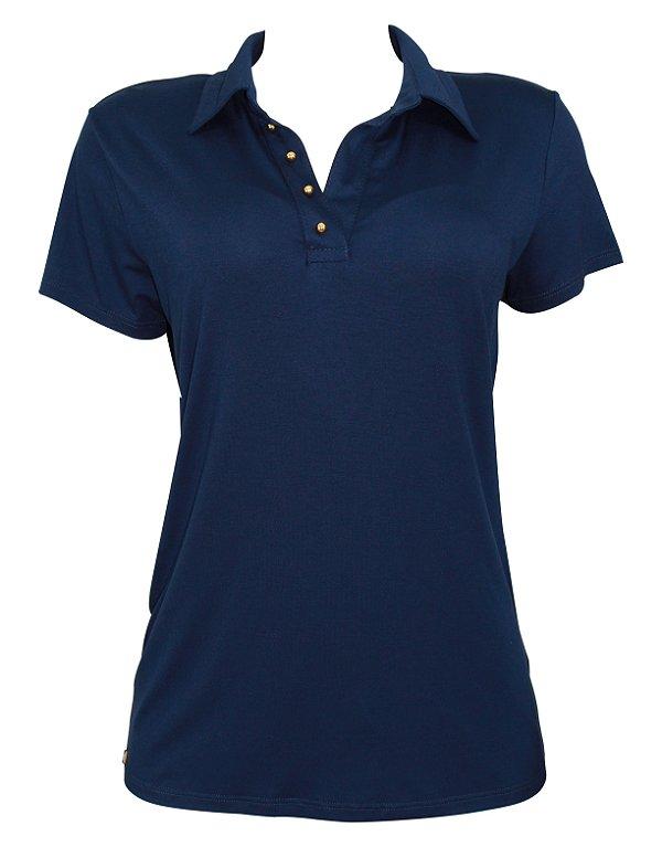 848e68dda28af Camisa Polo Azul Marinho - Belle Vestiti - Loja Online de Blusas ...
