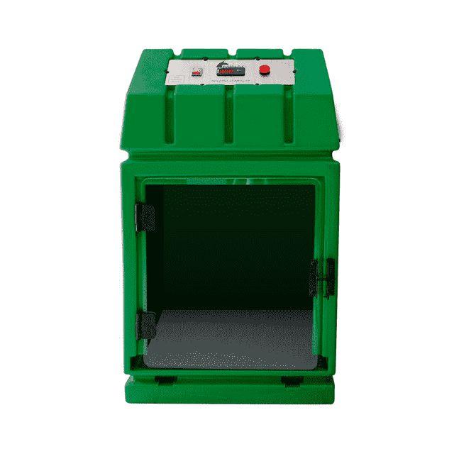 Máquina de Secar Rotomoldada Compacta Minag Verde