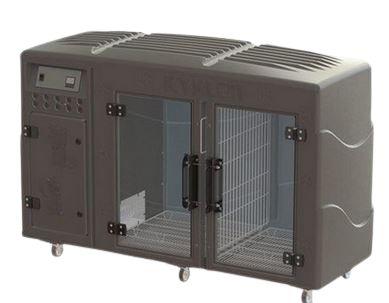 Máquina de Secar Pet Profissional Kyklon Cinza