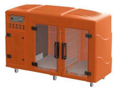 Máquina de Secar Pet Profissional Kyklon Laranja