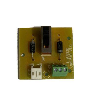 Placa (circuito) Máquina Tosa 610 UAU+ Bivolt