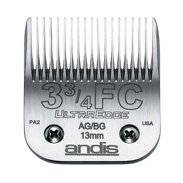 Lamina Andis Ultraedge Modelo 3 3/4FC 1.3mm Banho e Tosa