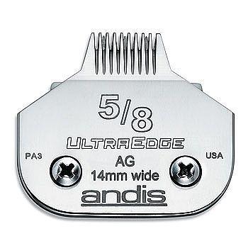 Lamina Andis Ultraedge Modelo 5/8 0.5mm Banho E Tosa