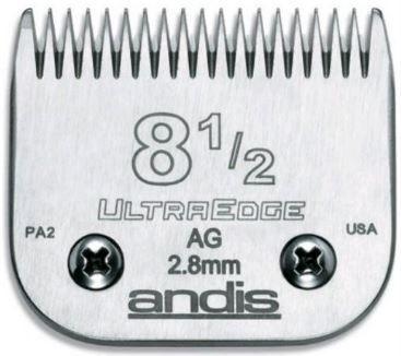 Lamina Andis Ultraedge Modelo 8 1/2 2.8mm Banho e Tosa