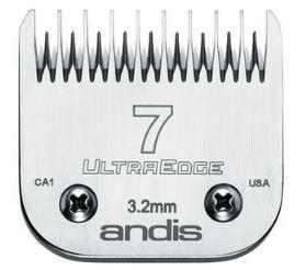 Lamina Andis Ultraedge Modelo 7 3.2mm Banho e Tosa