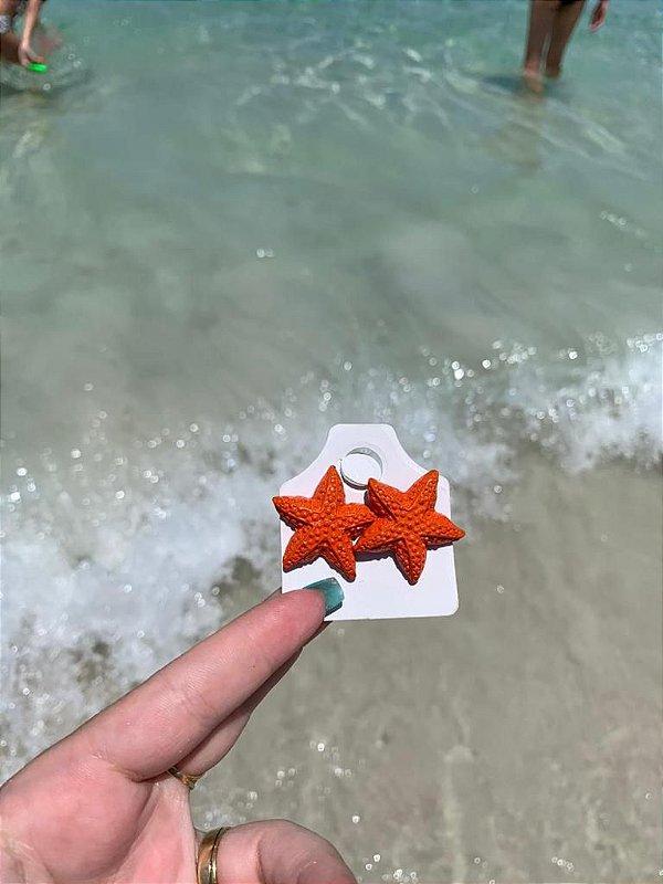 Brinco Estrela do Mar Coral