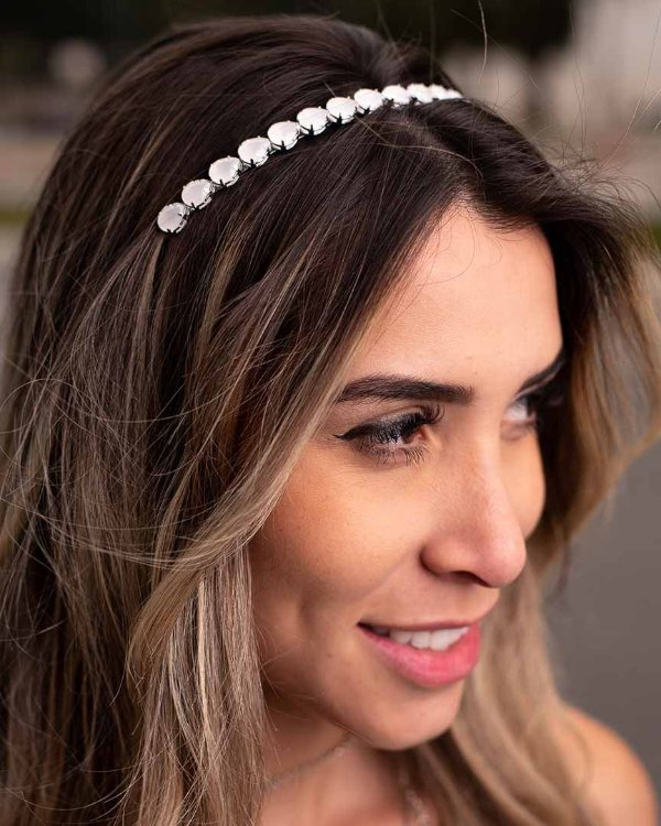 Tiara White Prata
