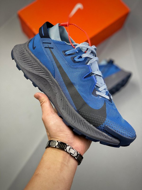 Tênis Nike Pegasus Trail 2 GTX Azul e Preto