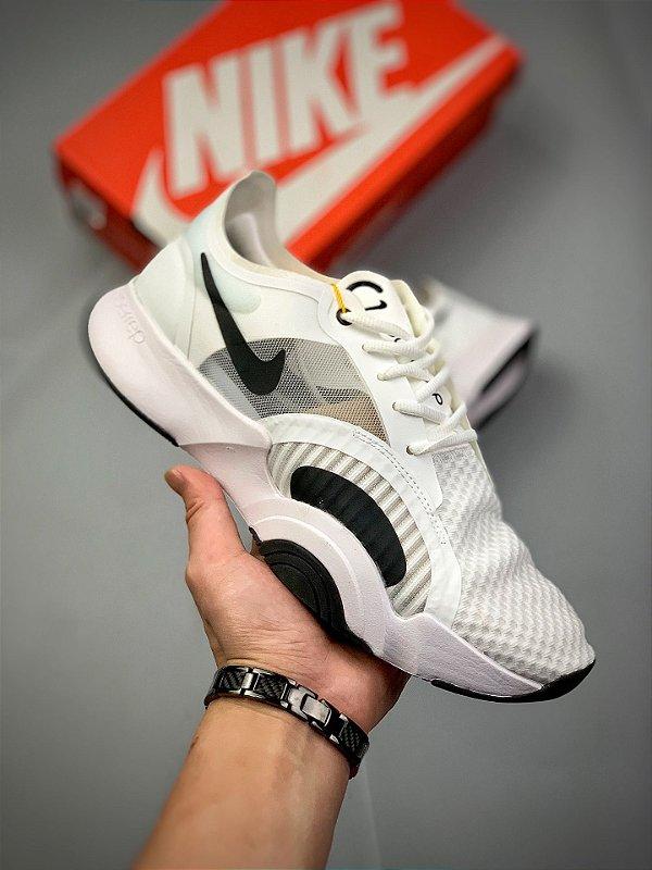 Tênis Nike Women SuperRep Go Branco e Preto