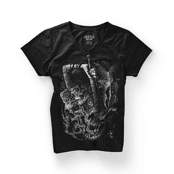 Camiseta Babylook Ink I - Gola V