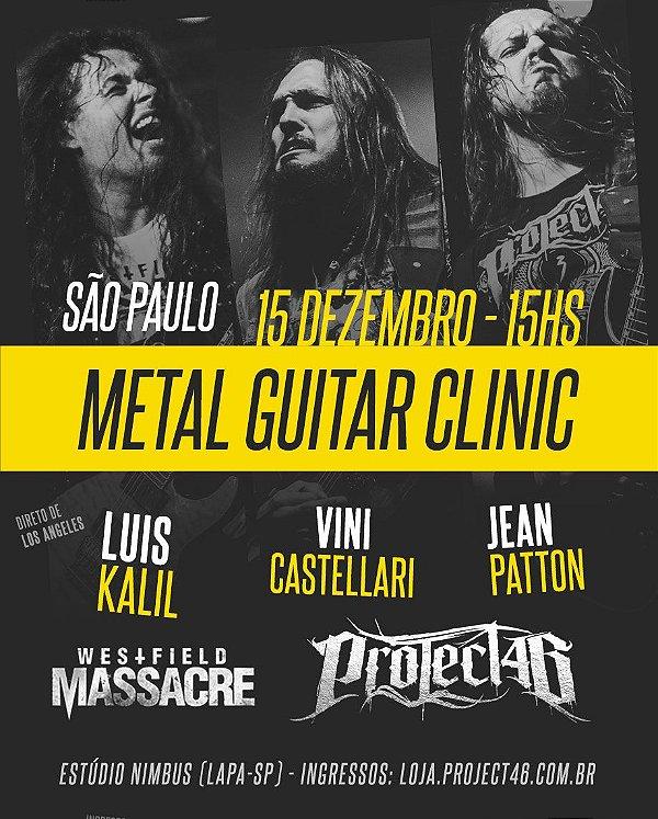 Metal Guitar Clinic - Luis Kalil / Vini & Jean (15/12/18 @ SP)