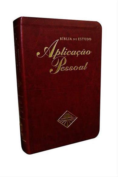 Bíblia Aplicação pessoal- média