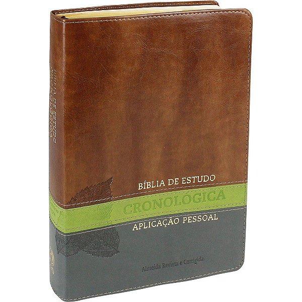 Bíblia Cronológica Aplicação pessoal