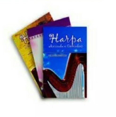 Kit com 10 Harpa Brochura com corinhos- Pequena