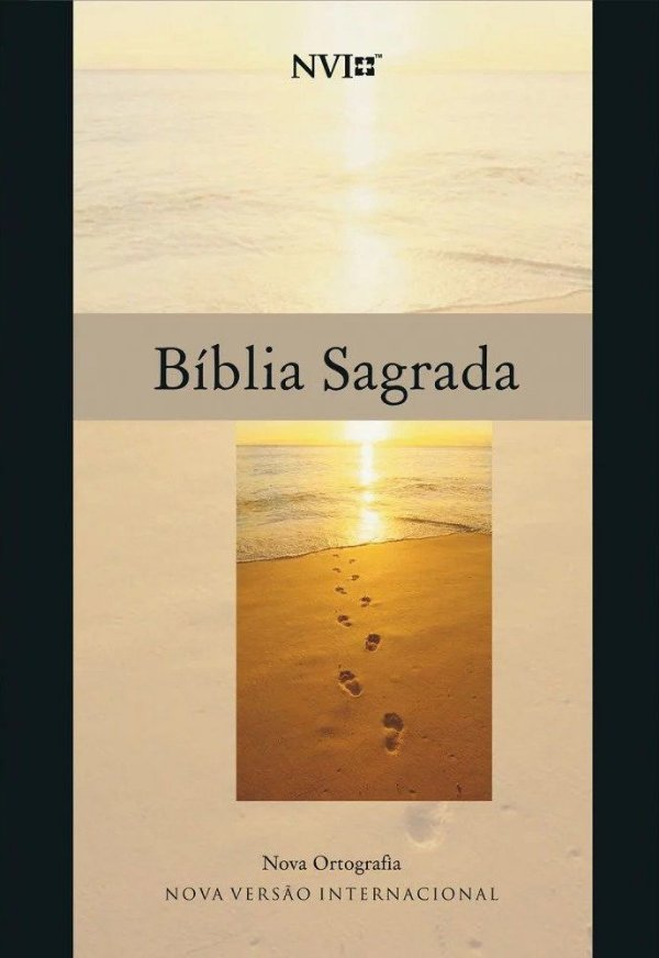 Bíblia NVI- Capa Brochura- Preta