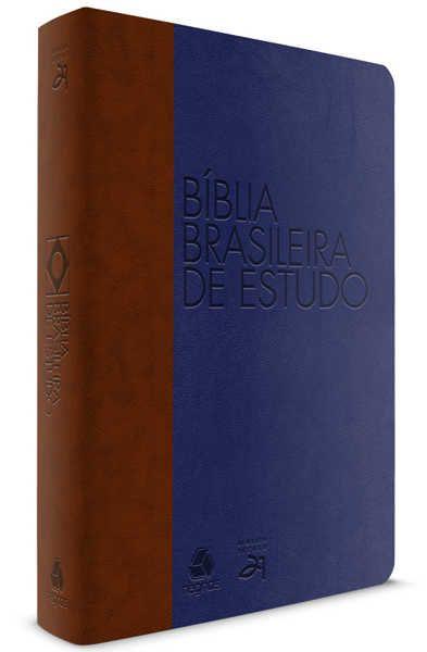 Bíblia Brasileira de Estudo- AZUL