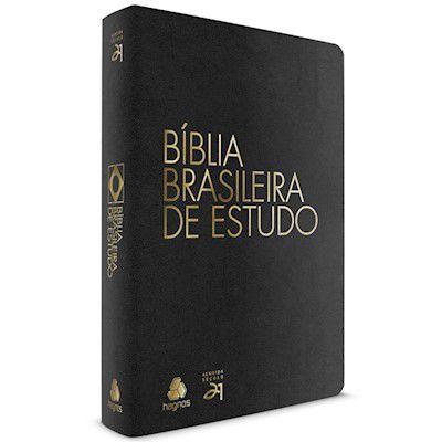 Bíblia Brasileira de Estudo- Preta