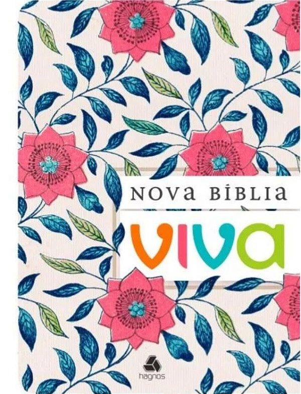 Nova Bíblia - Rosa Floral