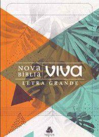 Nova Bíblia Viva- Letra Grande- Laranja Triangular