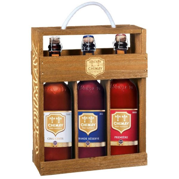 Kit Chimay 3gf 750ml Madeira