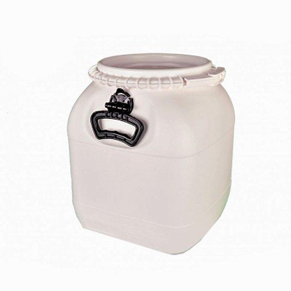 Bombona plástica (Fermentador) 30L - Branca