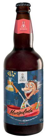 Cerveja Antídoto Manipulada Rye APA 500ml
