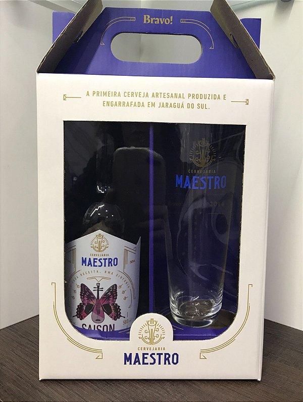 Kit Maestro Saison 1gf 500ml + 1 copo